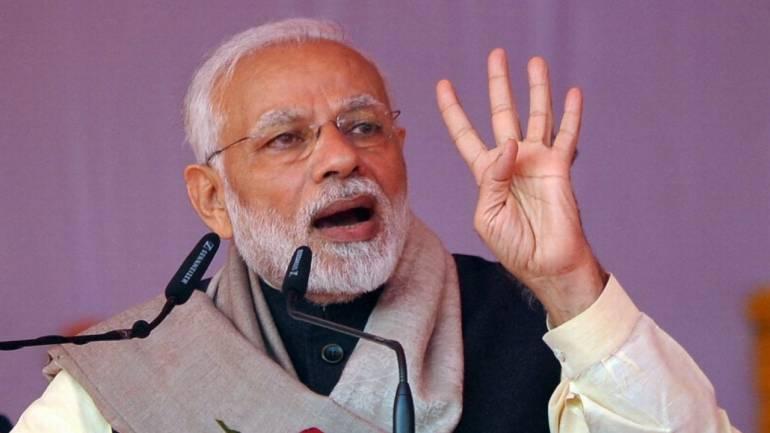 PM modi to address at Mahbubnagar today