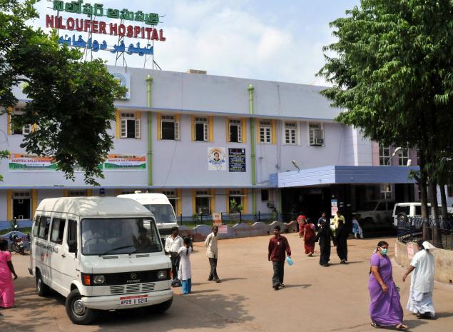Health Minister visits Niloufer Hospital