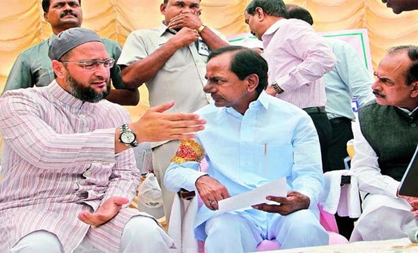 Owaisi is not for sale: KCR