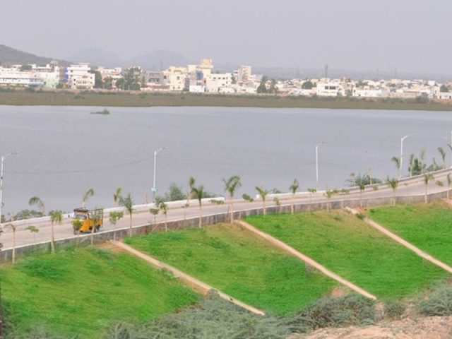 90 mini-tank bunds underway in Telangana