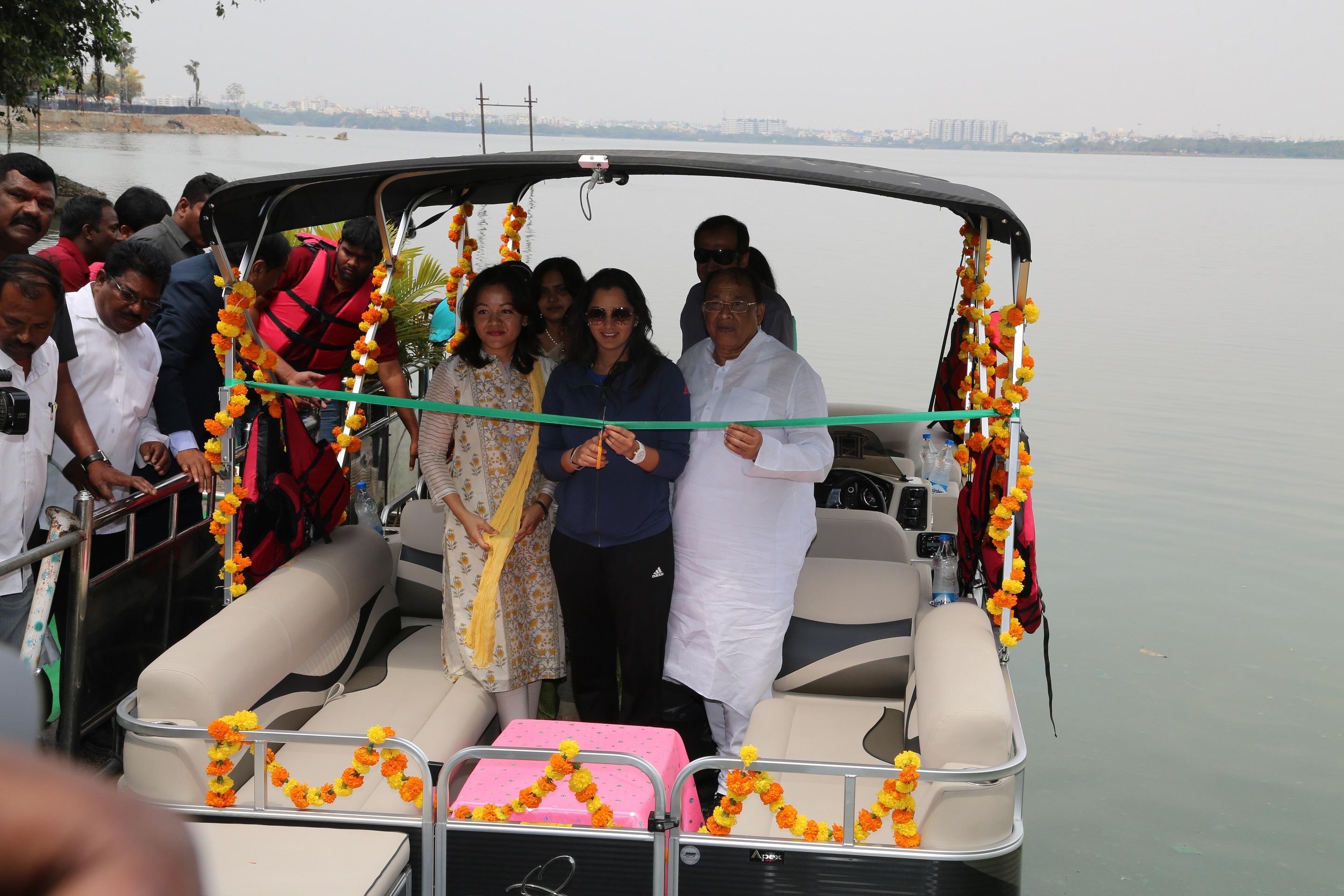 Telangana Tourism introduces Luxury Yacht Rides at Hussain Sagar
