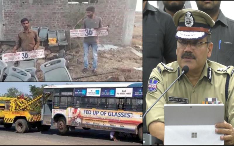 Hyderabad: Police busts sensational TSRTC bus theft gang, 9 arrested