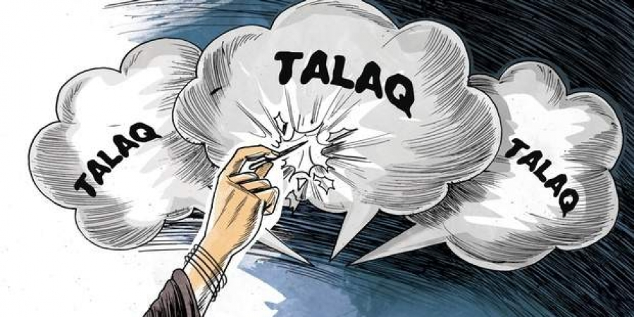 Principal booked for triple talaq