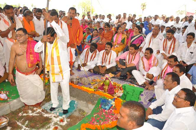 District TRS offices to strengthen party: G Jagadish Reddy