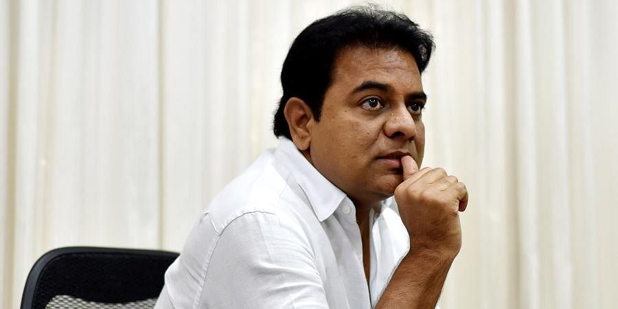 KTR appeals to the EBG members to consider Telangana for new projects in India
