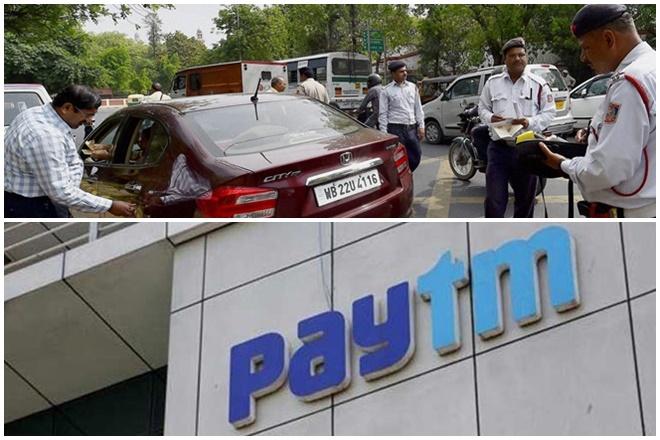 Pay traffic challans through Paytm