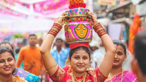 Bonalu celebrated with gaiety in Hyderabad
