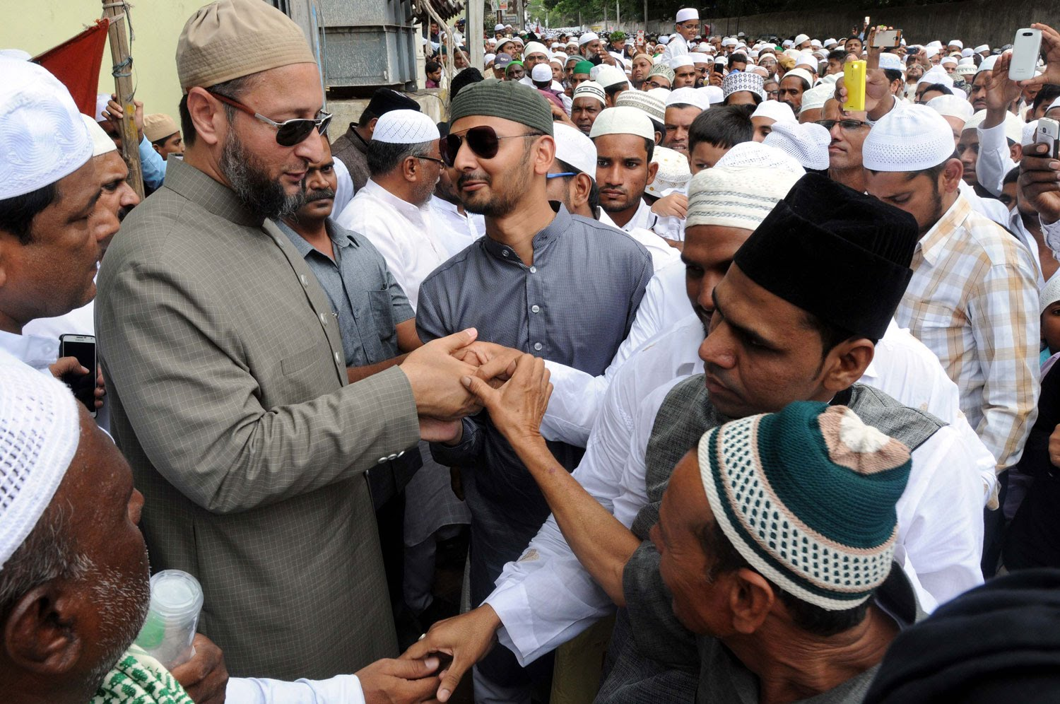 Eid-ul-Fitr celebrates with religious fervour and gaiety in Telangana