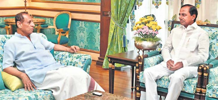 CM KCR, Governor Narasimhan discuss host of issues