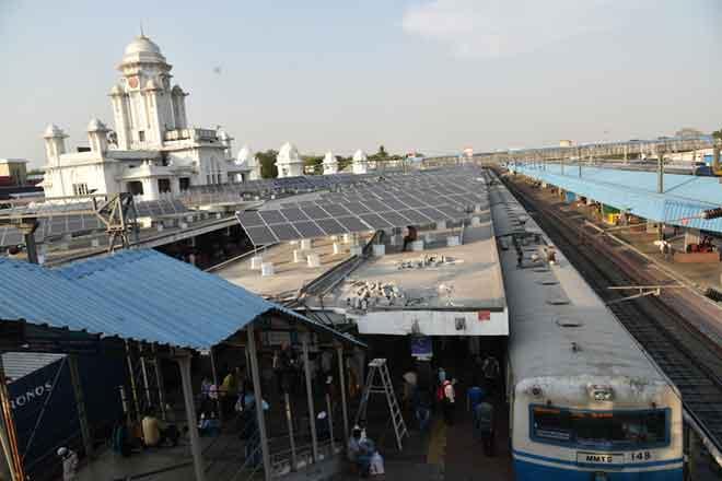 Kachiguda railway station gets solar plant
