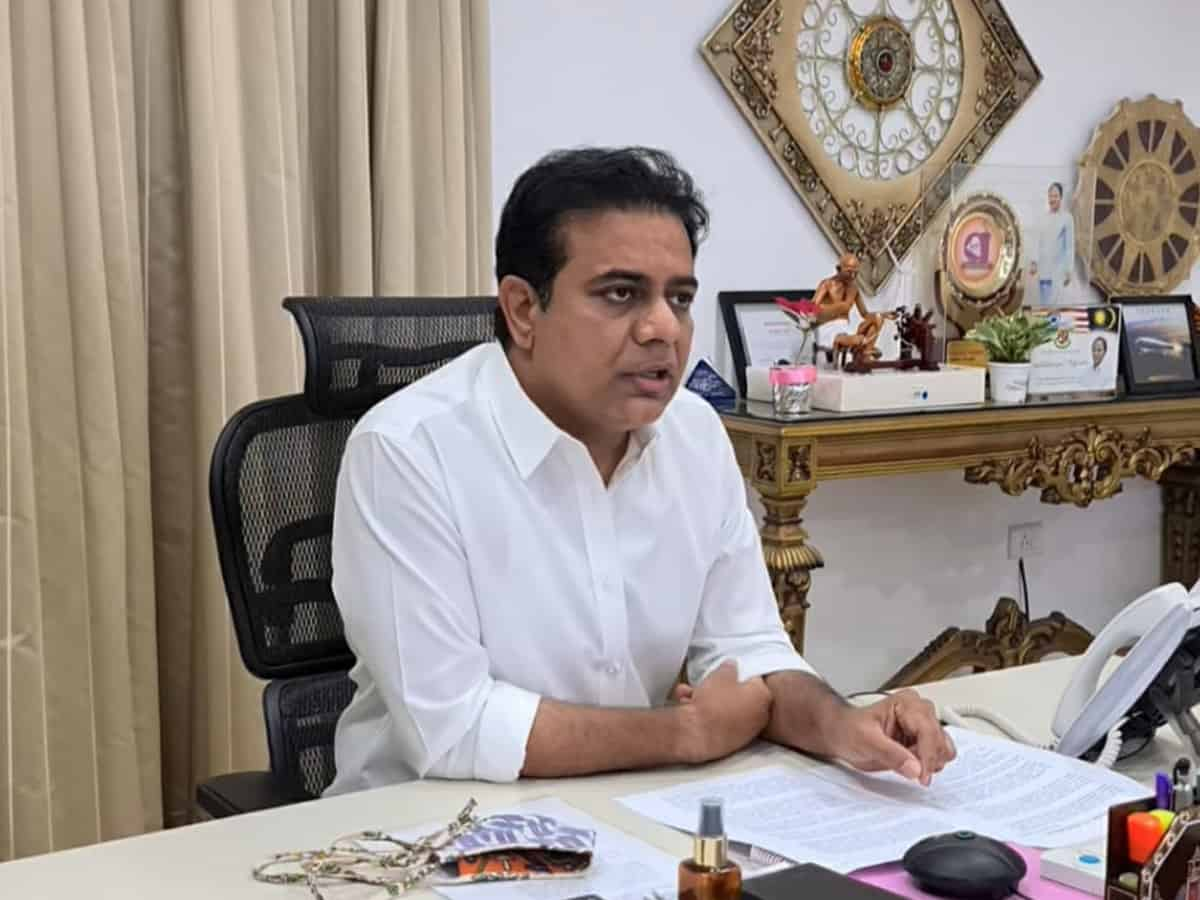 KTR urges the Centre to establish a Vaccine Testing and Certification Laboratory in Hyderabad