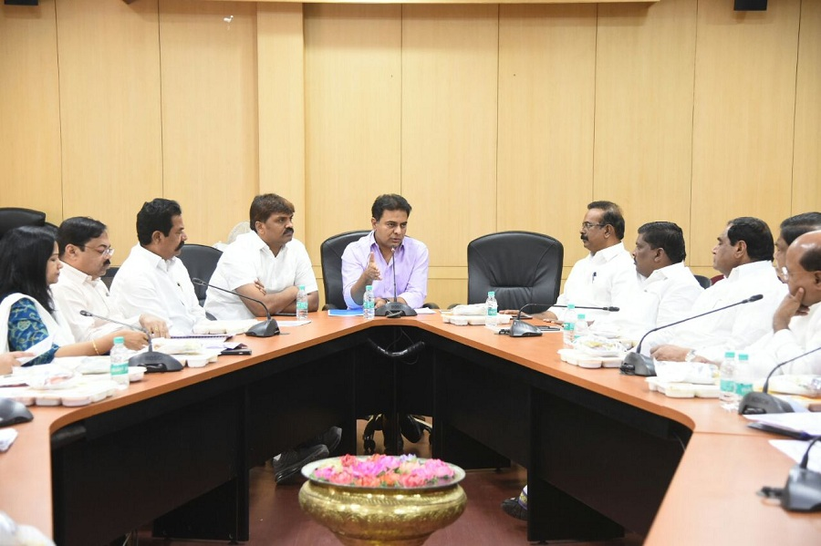 Govt will try to ensure sufficient water supply during summer: KTR