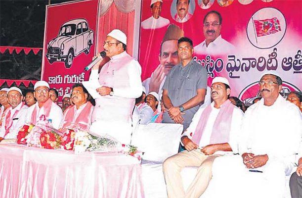 TRS a secular party, says Deputy CM Mahmood Ali