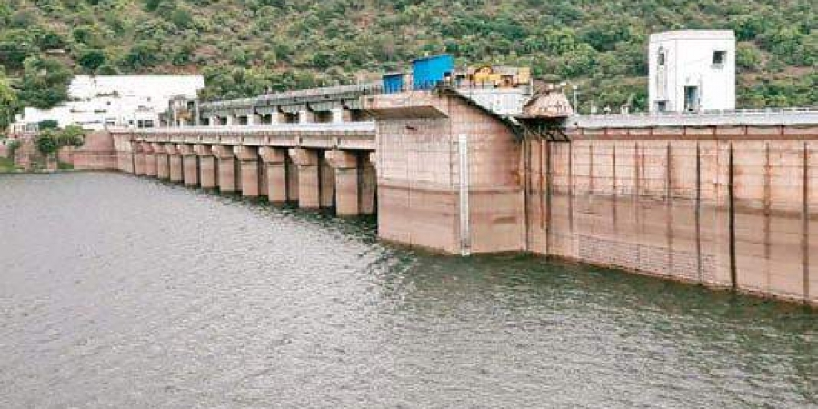 Heavy inflows increase output at Srisailam Power Station