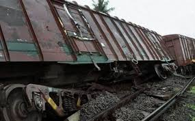 Goods Train derailed on Secunderabad-Vikarabad Section