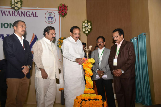 Venkaiah Naidu inaugurates NIT Warangal Diamond Jubilee Celebrations
