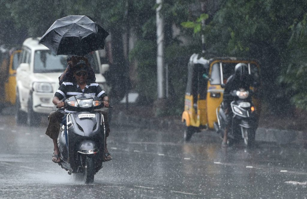 Kukatpally records the highest rainfall of 21 mm yesterday