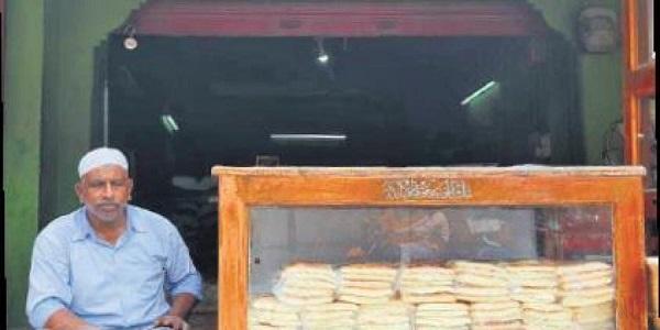 This breadman at Hyderabad