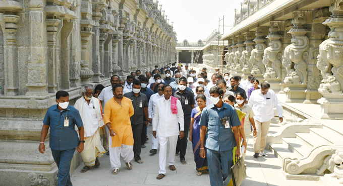 Yadadri temple likely to reopen in May