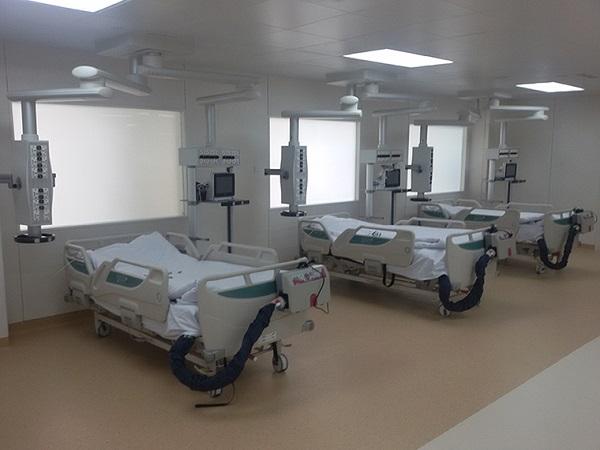 Telangana Government has installed 10 new ICU beds at AIIMS-Bibinagar