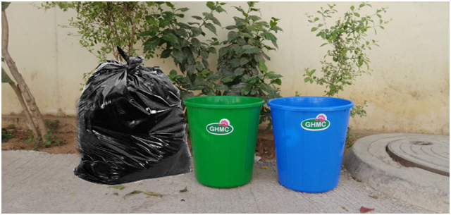 GHMC to offer dustbins to street vendors