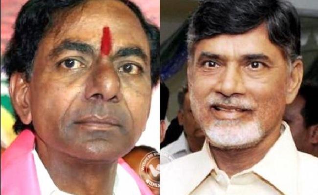 KCR to invite Chandrababu Naidu to World Telugu Conference