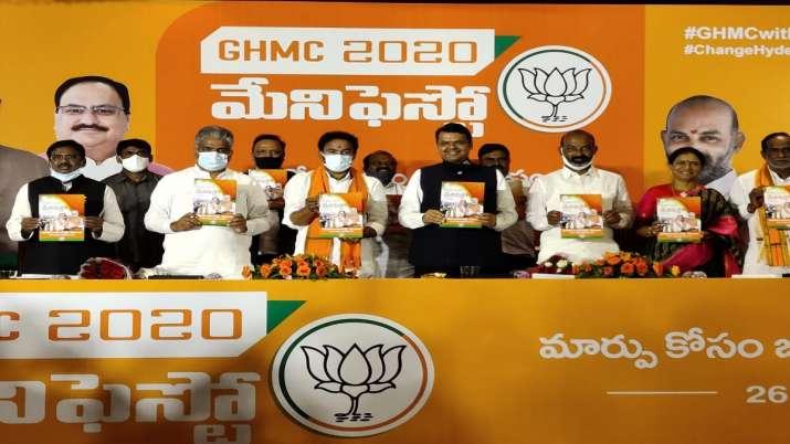 BJP releases party manifesto