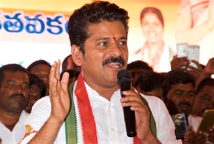 IT dept raids premises of Telangana Congress leader Revanth Reddy