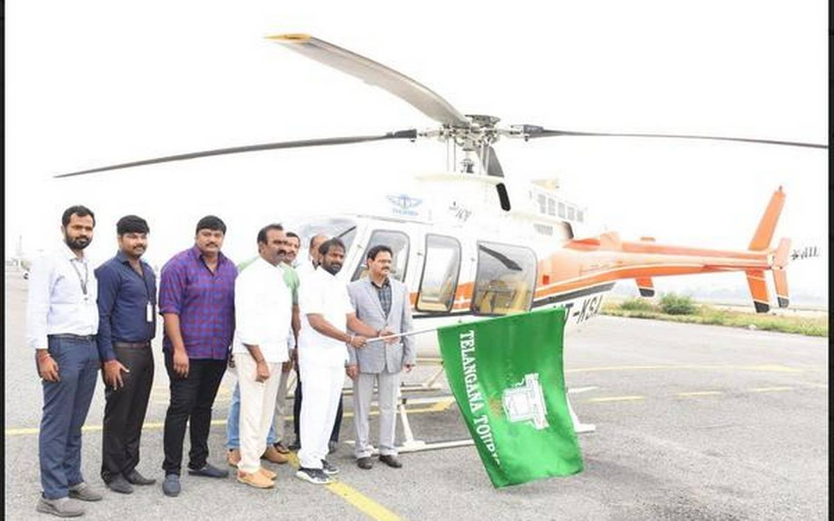 Telangana Tourism launches three chopper tourism packages