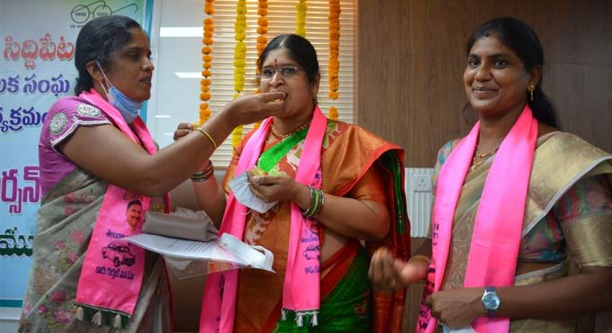 Manjula elected as Siddipet Municipal Chairperson