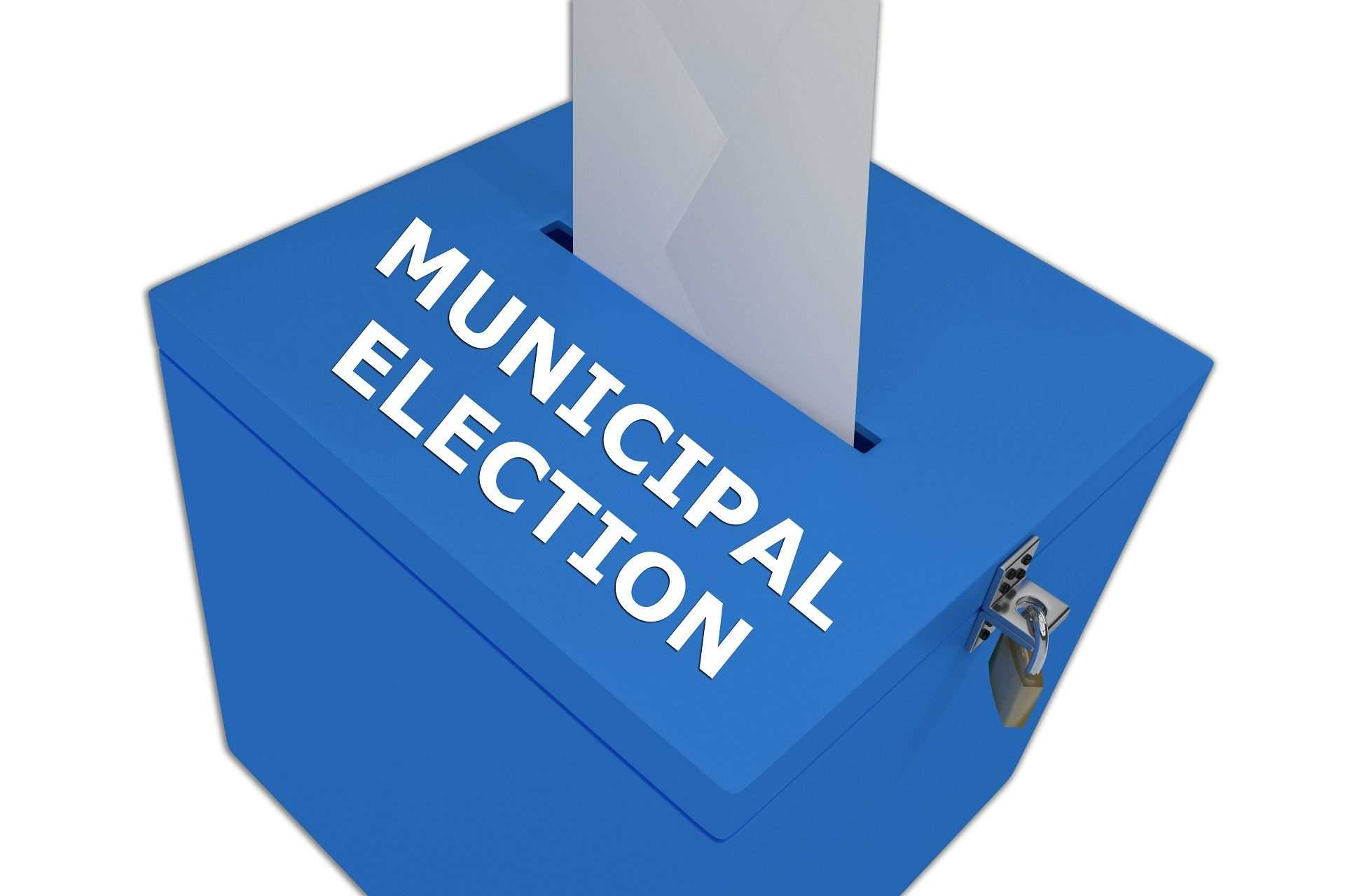 Ordinance issued to hold municipal elections