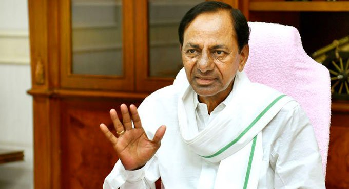 KCR announces 10% reservation for economically weaker sections