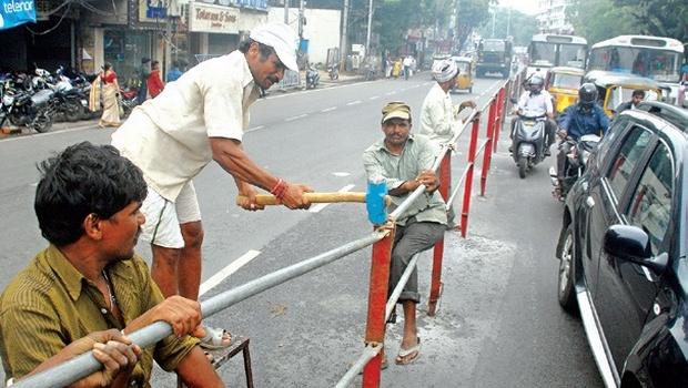 Traffic curbs near Telugu Talli from Feb 17 to 22