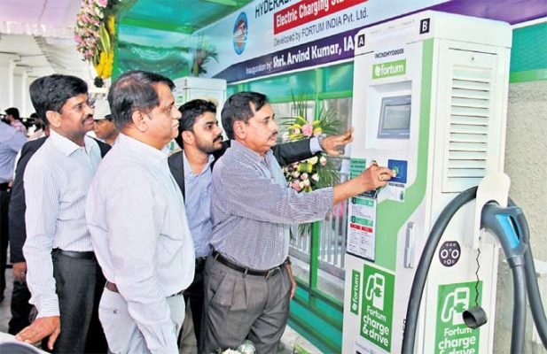 Smart parking system launched at Begumpet