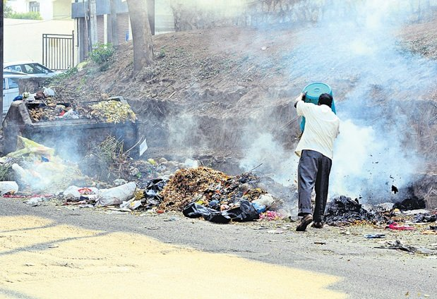 Burning of waste in open banned in Telangana