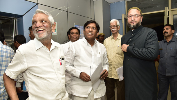 ECI team arrives in Hyderabad
