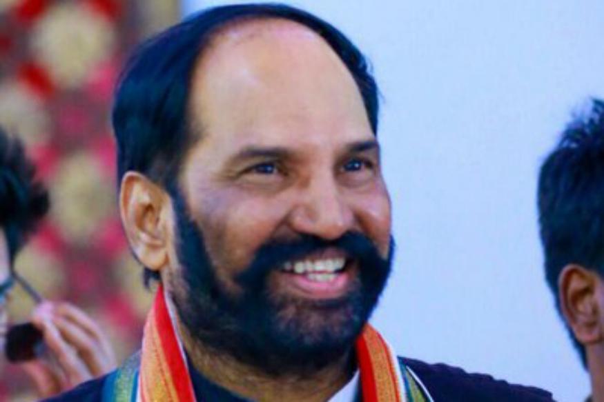 Uttam Kumar Reddy will contest from Nalgonda