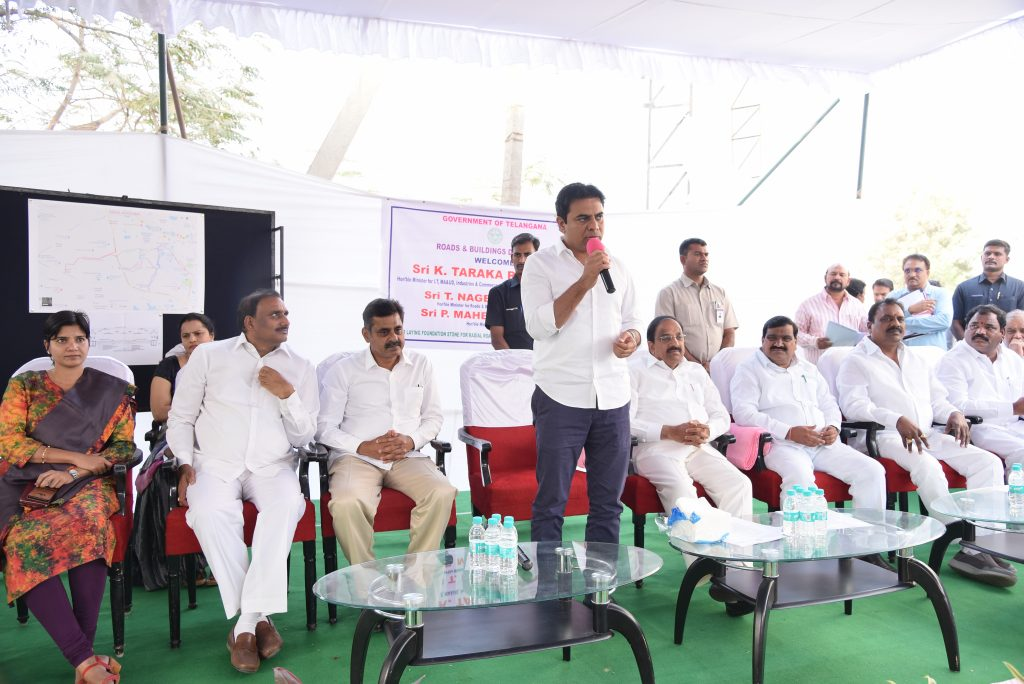Regional Ring Road will transform Hyderabad: KTR