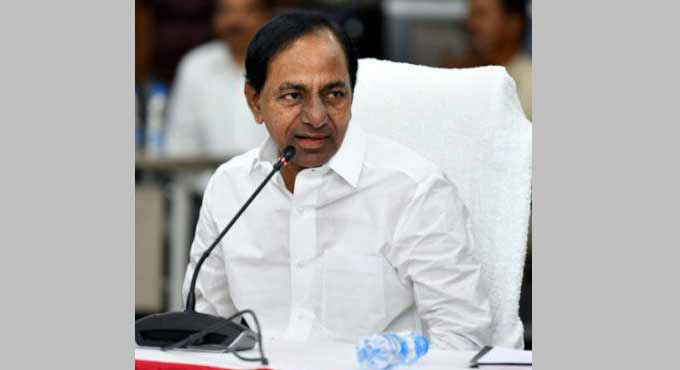 CM KCR says Cotton grown in Telangana is of high demand