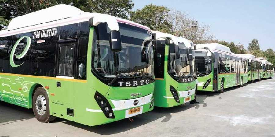 Hyderabad to get 300 e-buses