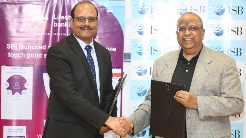 ISB sign MoU with SBI