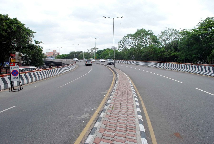 Traffic regulation imposed on PVNR Expressway