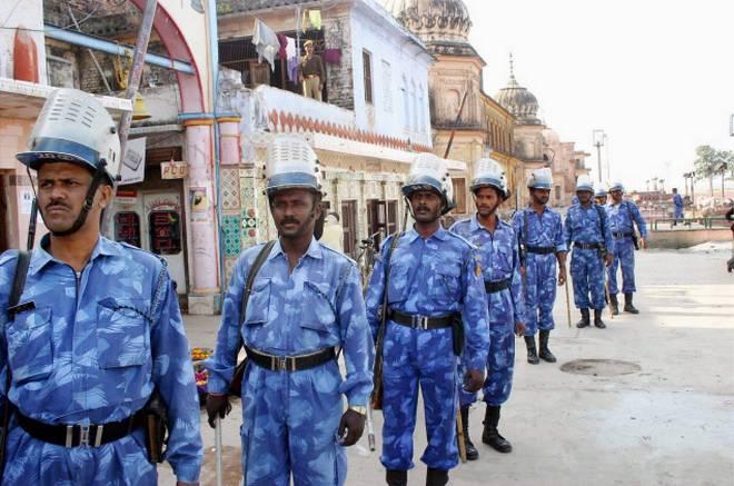Police on alert for Babri Masjid anniversary