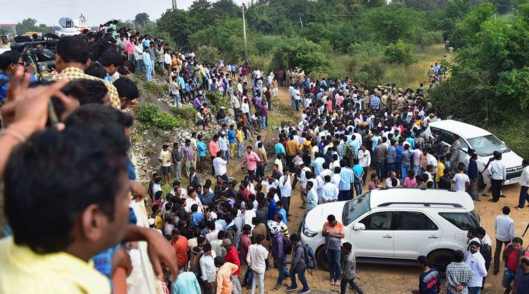 Hyderabad Encounter: Custodial death, attempt to murder case booked