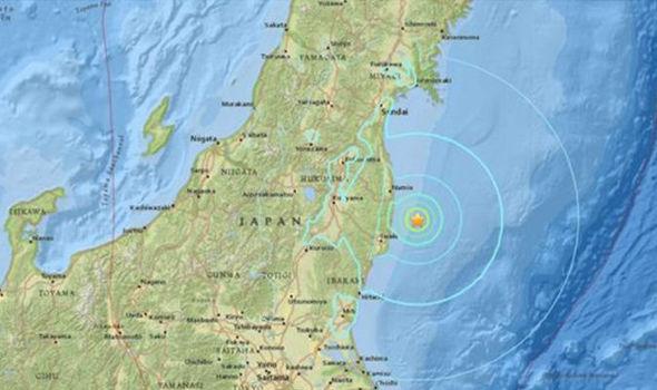 japanstruckbymassiveearthquakejustdaysafter74quakehitthesamearea