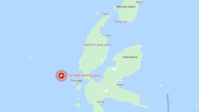 7.4-magnitude earthquake hits near Malaku islands in Indonesia