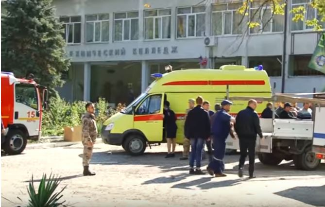 Bomb at Crimea school kills 10 people, wounds 50, Russian state media reports