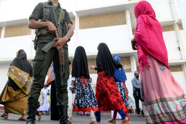 Sri Lankan Islamic clerics seek clarity on face veil ban
