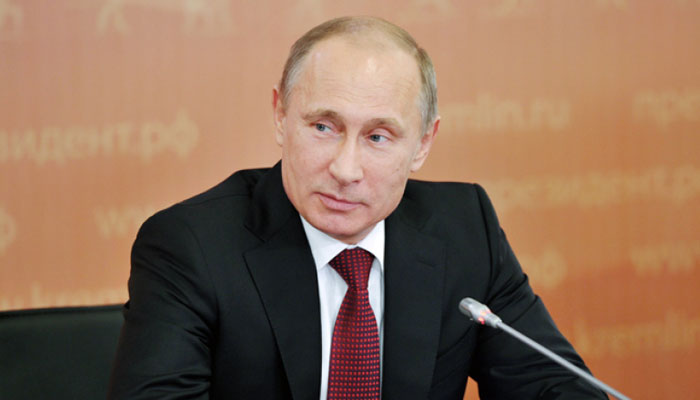 Russia President Vladimir Putin signs into law a sovereign internet bill