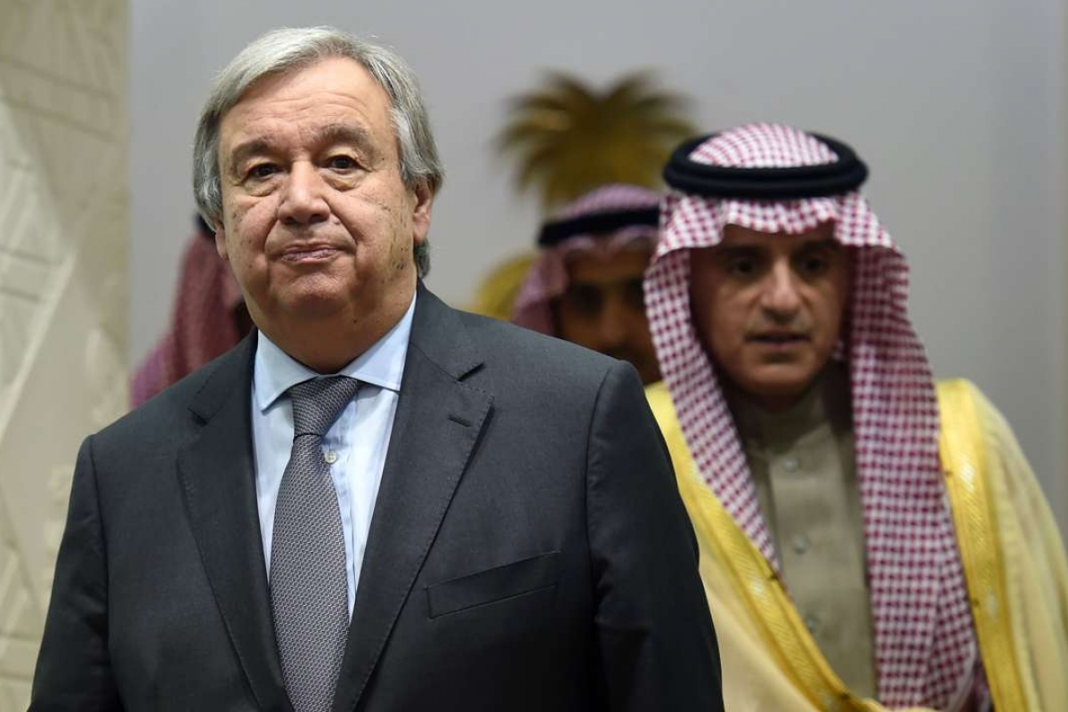 UN chief Antonio Guterres warns of global threat from fleeing Daesh foreign fighters